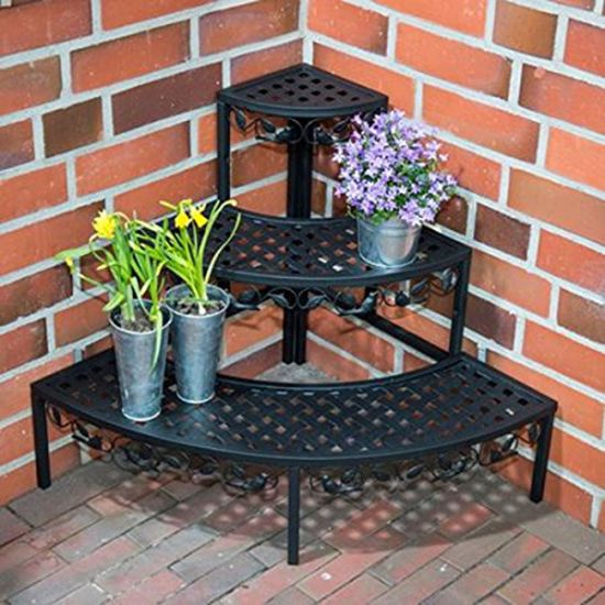 metal garden flower staging LJ-5001